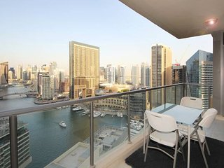 Amazing Lake View 2 Bedroom Apartment in Dubai Marina