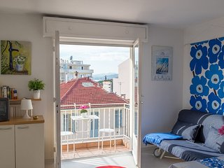 Studio with balcony, 2 min to the beach - Destination Cannes