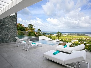 VILLA O ... IRMA Survivor!! Spectacular Modern New Villa in Orient Bay Village!