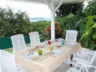 Maisons 3 chambres vue sur mer et piscine partagee