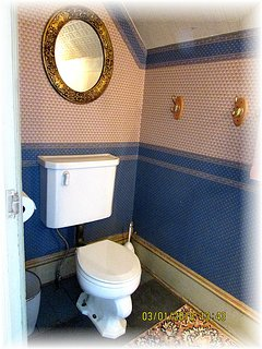 Convenient Half Bath Upstairs