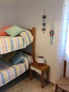 Dormitorio dos literas