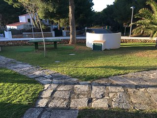 Jardines y ping pong