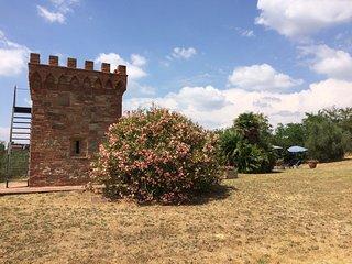 Agriturismo in historic villa, panoramic swimming pool, authentic furniture