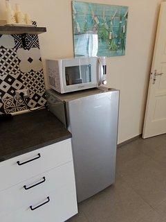 frigo e microonde