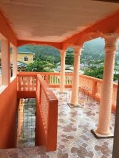 Enjoy the Caribbean Breeze and beautiful views from the balcony.