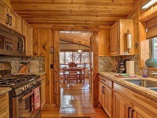 This rustic home has all the modern upgrades you'd like!