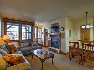 Granby Ranch Ski-In/Ski-Out Condo - Mountain Views