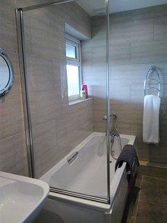 En suite bathroom for Bedroom two