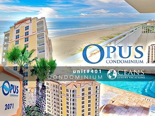 Oct Specials! Opus Condo - Ocean & River View- 3BR/2BA #401