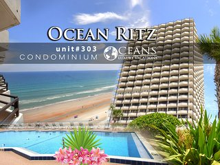 Avail Jan-Mar! Ocean Ritz Condo - Ocean View - 2BR/2BA #303