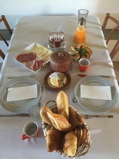 A delicious breakfast every day