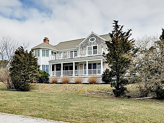 Luxury 5BR Cape Cod Colonial w/ Prime Outdoor Entertaining & Lewis Bay Views