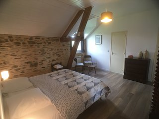 La Rame room 4, a beautiful B&B room in an old farmhouse in the Dordogne.