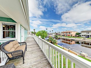 Spacious Canal-Front 5BR w/ Channel Views, Outdoor Living, & Private Bulkhead