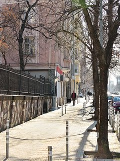 The Apartment is Located in Downtown Sofia.