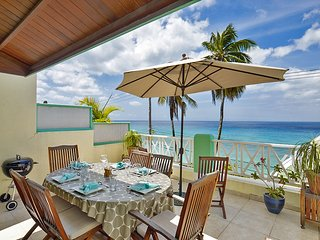 Immaculate Three Bedroom Beachfront Penthouse Apartment