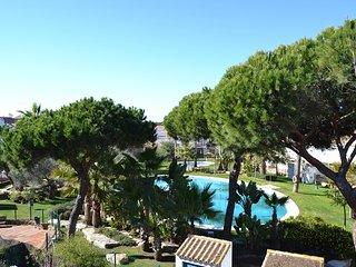 Chalet adosado 3 dormitorios, a/a, piscina, wifi, cerca playa, piscina
