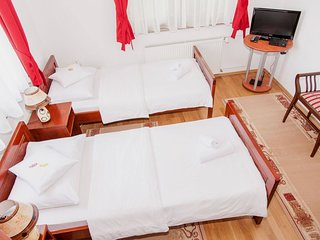 Apartment Bramado: Double or Twin Studio only 5 km from famous Plitvice Lakes
