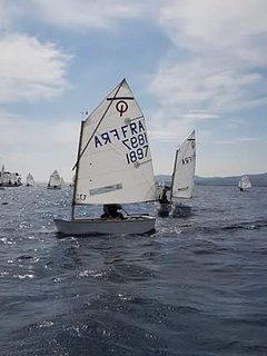 Sailers can find their heart in Frejus: starting with lessons for kids at the ecole nautique.