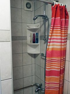 Newly updated shower