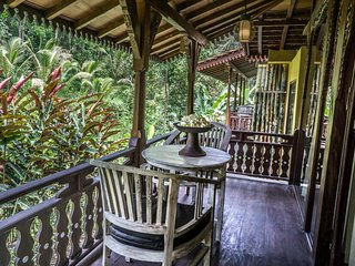 Woonden Villa in the Jungle at DD Ubud Jungle Villa