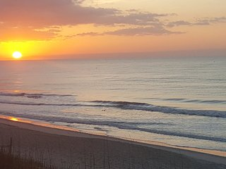 Enjoy the sunrise-panoramic view-Oceanfront-2 bedroom-2 bath Unit-Fresh Updates