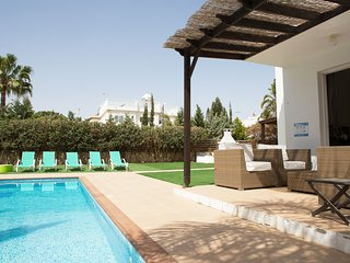 Villa Sofia with private pool and opposite nissi beach