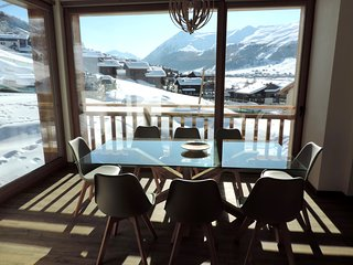 NIX Apartment Livigno | Sky ready | 8 posti | Bagno turco e Vista Panoramica