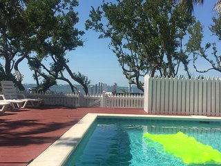Key West Gulf front Home with private dock and pool.
