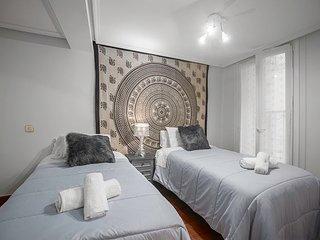 Apartamento en casco antiguo de San Sebastian. REGISTRO TURISTICO: 01166.  WIFI