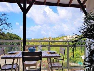 Villa neuve vue mer avec piscine a 2 mn des plages de Sainte-Luce/  6-8 pers / P