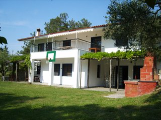 Near Posidi: Secluded 1.8 acre orchard Villa, exclusive use, Stunning Views.