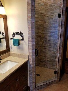 Upstairs Bath room - Shower