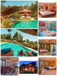 Coral Beach Pool Villa 4 bedrooms en suite