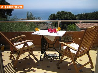 SUNNY RELAXING VILLA IN 5 MINUTES TO THE BEACH, 30 MINUTES TO BARCELONA.