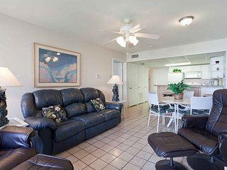 Plenty of space to kick back and relax in the living area