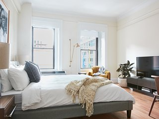 Playful Studio in Downtown Crossing by Sonder