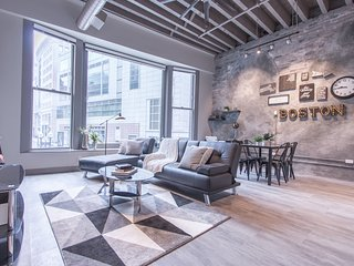 Industrial 1BR in Downtown Crossing by Sonder