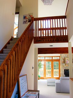 Past the main entrance is an open foyer.