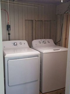 Laundry room on ground level available