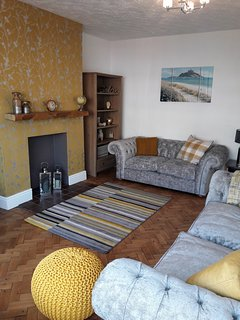 Main lounge with all the home comforts