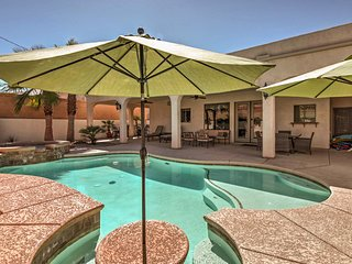 4BR Lake Havasu City House w/Private Heated Pool!