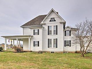 NEW! Historic Shenandoah Valley Home in Elkton!