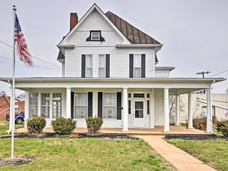 NEW! Historic Shenandoah Valley Home in Elkton!