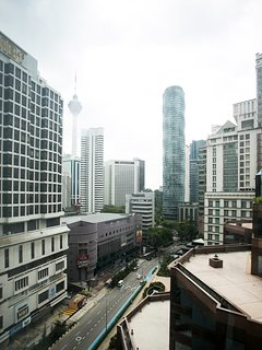 Enjoy great city scenery with KL Tower view from living room and bedrooms !