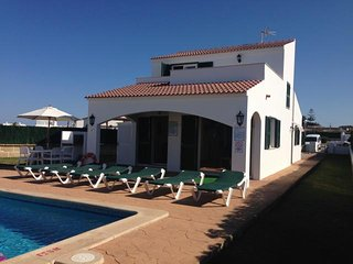 3 bedroom Villa in Cap d'Artrutx, Balearic Islands, Spain : ref 5491493