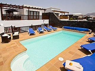 5 bedroom Villa in Playa Blanca, Canary Islands, Spain : ref 5491448