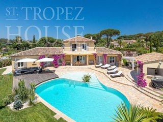 6 bedroom Villa in Saint-Tropez, Provence-Alpes-Cote d'Azur, France : ref 549148