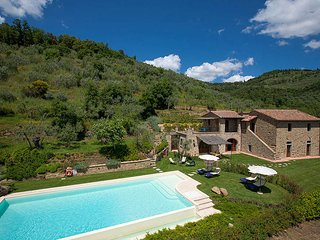 4 bedroom Villa in Moriello, Tuscany, Italy : ref 5604629